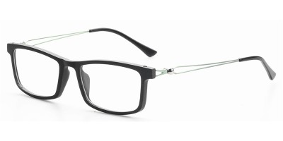 Nature Ebony Frame Metal Legs Prescription Optic Frame IBW-GS021