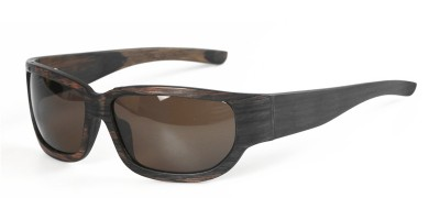 Nature Ebony Wood Made Big Curve Sport Sunglasses IBW-GS017A