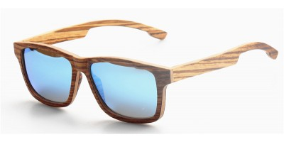 Thin Layers Zebra Wood Prescription Optical Eyeglasses / Sunglasses IBW-GS014C