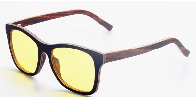 Thin Layers Ebony Wood Prescription Optical Eyeglasses / Sunglasses IBW-GS012A