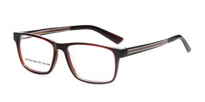 Acetate Optical Frame With Wooden Arms & Acetate Tips IBA-JY003B