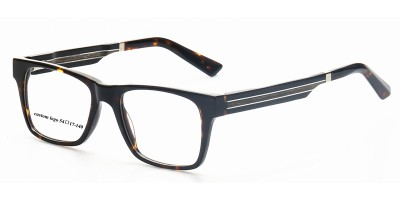Acetate Optical Frame With Wooden Arms & Acetate Tips IBA-JY004B