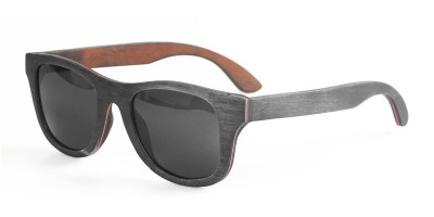 Multi Color Skateboard Wood Sunglasses IBW-YT004