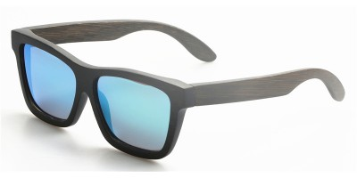 Squared Bamboo Polarized Sunglasses IBW-GS011A