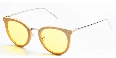 2019 Design Nature Bamboo Metal Legs Sunglasses IBW-GS002A