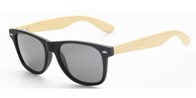 Plastic Frame Nature Bamboo Temples Sunglasses Polarized IBW-GS034