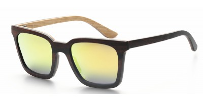 Nature Wood Laminated Design Sunglasses Polarized IBW-FJ004