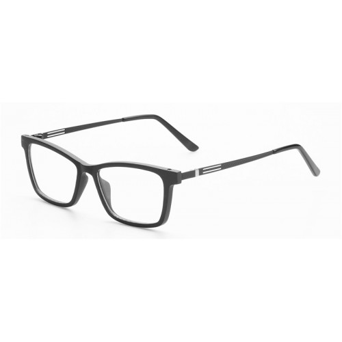 Nature Ebony Frame Metal Legs Prescription Optic Frame IBW-GS020