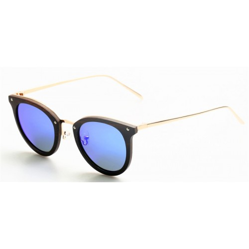 2019 Design Nature Ebony Wood Metal Legs Sunglasses IBW-GS002C