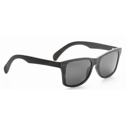 Ultra Light Thin Layers Ebony Wood Made Polarized Sunglasses IBW-GS025
