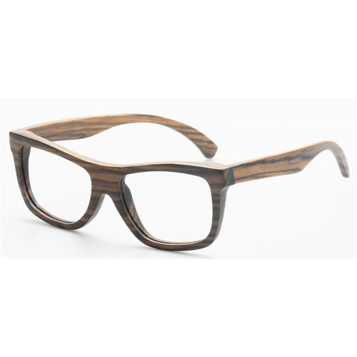 Men Style Nature Zebra Wood Polarized Sunglasses IBW-GS026