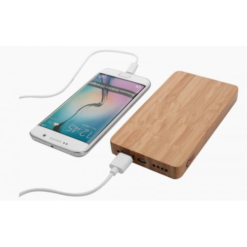 Eco-friendly Bamboo Made Phone Power Charge BanK  IBW-BT002