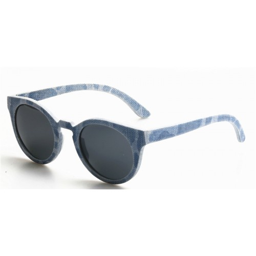 Classic Cute Style Laminated Denim Clothing Polarized Sunglasses IBD-003B